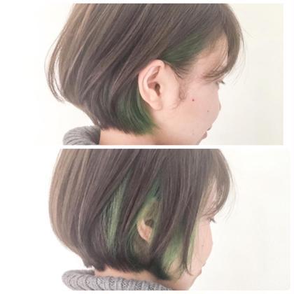 カラー インナーカラーグリーン