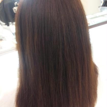 自然でまとまりの良いサラサラストレートヘア ASH鶴見店所属・田中瞬のスタイル