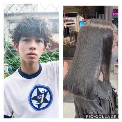 🌞am10:00限定クーポン🌞🌞男女兼用🌞カット+カラーorパーマ+髪質改善orヘッドスパ