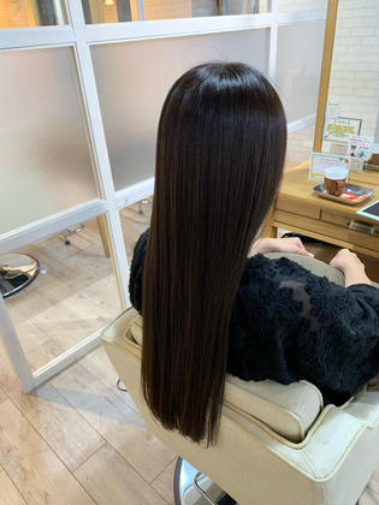 カット+(髪質改善)資生堂サブリミック酸熱トリートメント