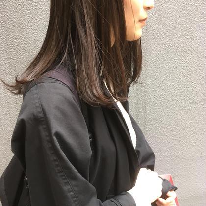 透明感カラー+TOKIOトリートメント