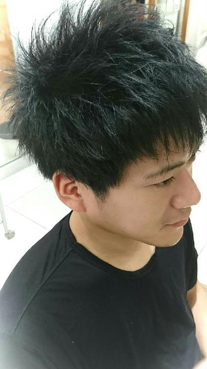 束感を作りセットも簡単なショートに♪ ATOLL所属・中村恵二のスタイル
