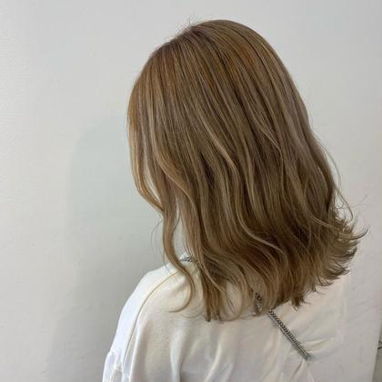 🌈大人気🌈18時までの限定クーポン⭐️シースルーカラー+髪質改善プチオージュア