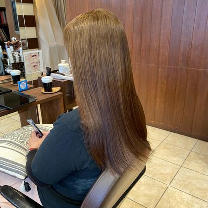 カット+エドルカラー+髪質改善オージュアTR💇♀️🌿🌿