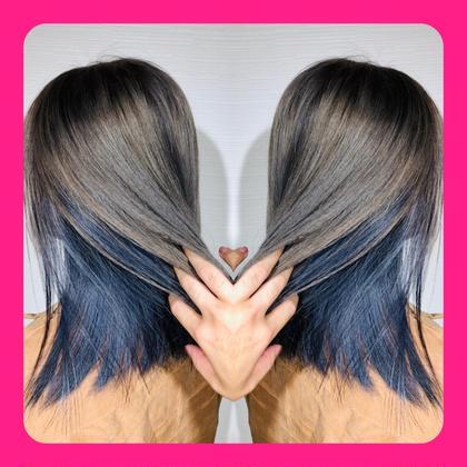 ⭐️2番人気⭐️💕初回2回目限定💕【髪質改善イルミナカラー】ケアブリーチカラー&髪質改善8stpトリートメント🔥