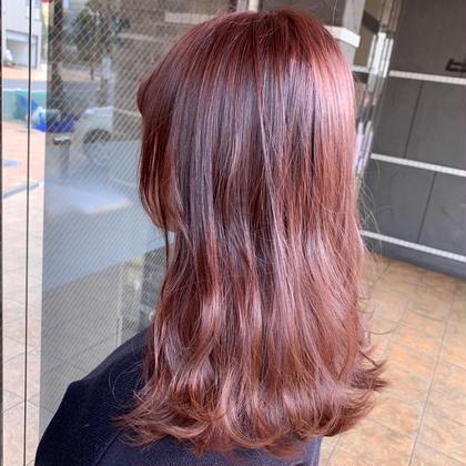 新規❤学割❤なりたい髪色に( ⁎ᵕᴗᵕ⁎ )⭐透明感upモロッカンオイルカラー+トリートメント