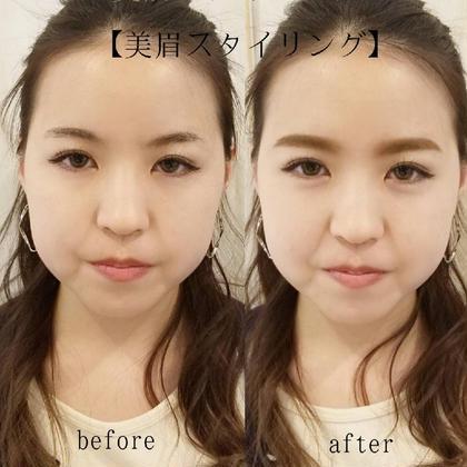 【眉毛で人の印象は変わる!】美眉スタイリング★眉毛を変えるだけでお顔の印象が変わる¥5000