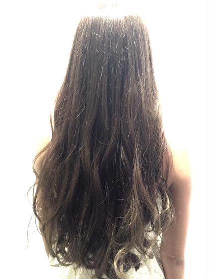 段は入れたくないけど重すぎるのはイヤという方!!透け感のあるアッシュ系のカラーで質感を出せば髪は重さがあるけど見た目は軽さが出ます!! Lani  hair所属・井出健太のスタイル