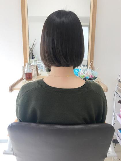 その他 カラー ショート ヘアアレンジ マツエク・マツパ 付ける前〜〜ヘアエクステ