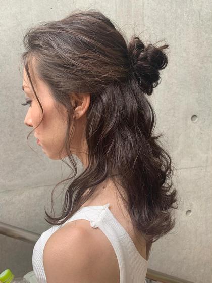 <結婚式💒素敵な日に❤️> 前髪カット&ヘアセット