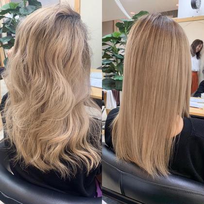 💎💎話題の髪質改善トリートメント💎💎サイエンスアクア