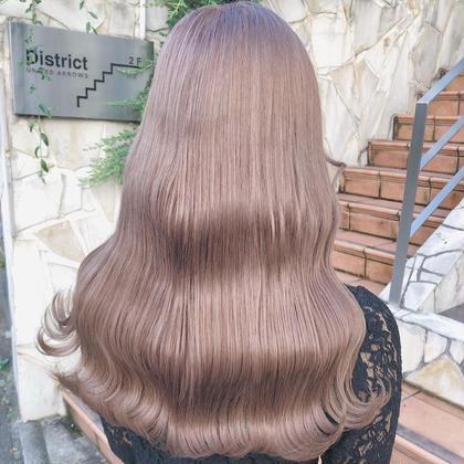🎀10月限定menu🎀🌷ダメージ95%減ケアブリーチ➕外国人風カラー➕毛髪補修トリートメント🌷
