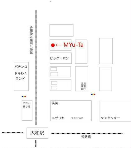 地図 MYu-Ta(ミュータ)所属・みゅーたサノトモミのフォト