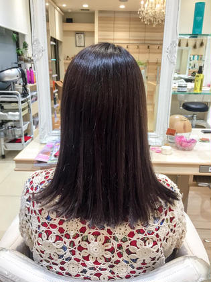 アッシュ三ツ境店所属の内田萌衣のヘアカタログ