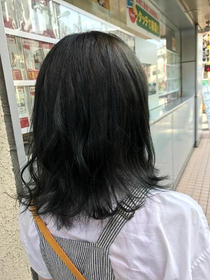 アディクシーでつくる 【ダークブルージュ】  ブルー感を出したい方に オススメ!ブリーチはなしです。*ある程度の元の明るさは必要です! hair&spa an  contour所属・鈴木輝のスタイル