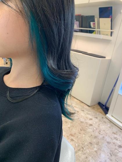【🌟オススメ🌟】【ブリーチ込み】インナーカラー+艶髪トリートメント