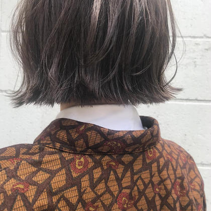 笠原由莉のショートのヘアスタイル