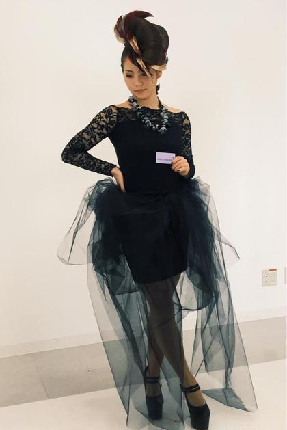 コンテスト予選。こちらのスタイルを香港本戦にむけてモデルさんを募集しています。 bern(ベルン)所属・花井菜緒のスタイル