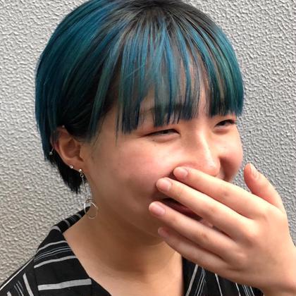 ≪ダブルカラー+カット+トリートメント≫ハイトーンや派手髪、透明感が欲しい方!ケアブリーチもあります◎