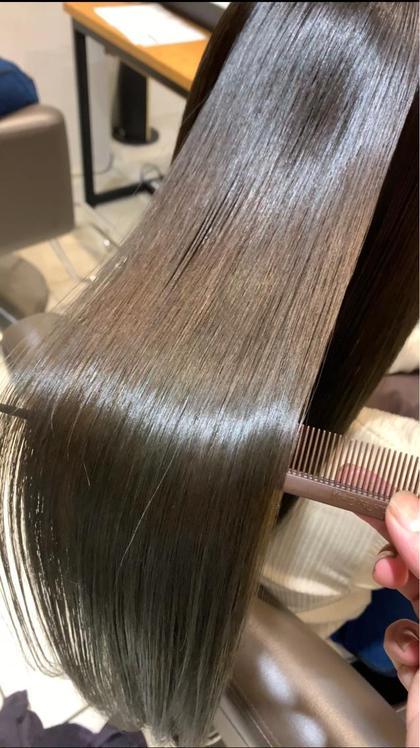 ✨今流行り✨髪質改善#酸熱トリートメント&オーガニックカラー