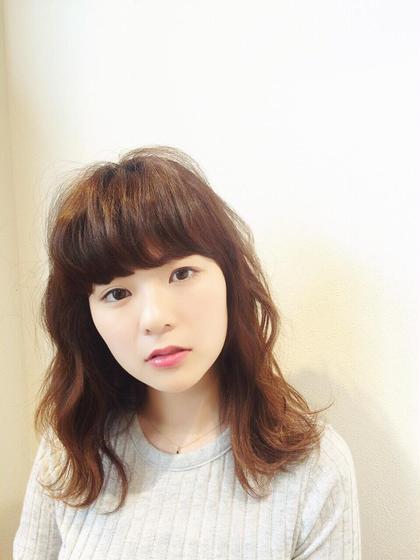 アンニュイ  ROUNGE hair所属・千葉彩乃のスタイル