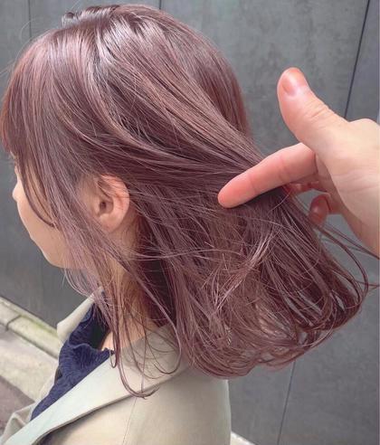 💟大人気💟ケアブリーチ✨94%ダメージカット✨+カラー+髪質改善トリートメント ケアブリと髪質改善でダメージレスに!