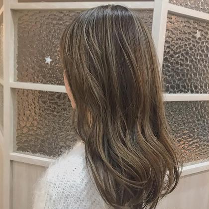 🦁【立体感のある髪なら】外国人風ハイライト + カラー + トリートメント