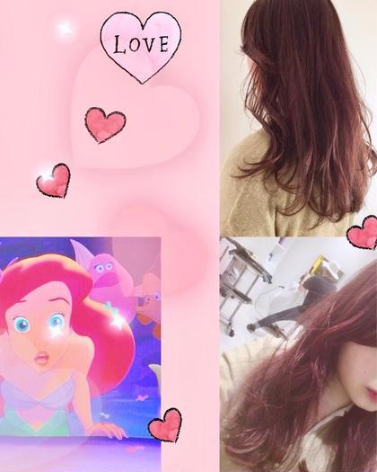 purple♡pink  関口三都季のヘアスタイル・ヘアカタログ