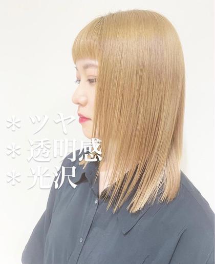 🎉今話題の酸熱髪質改善トリートメント🎉1回2万円コースを3回コースで2万円😍1回目1万円❗️2回目以降5千円🌈