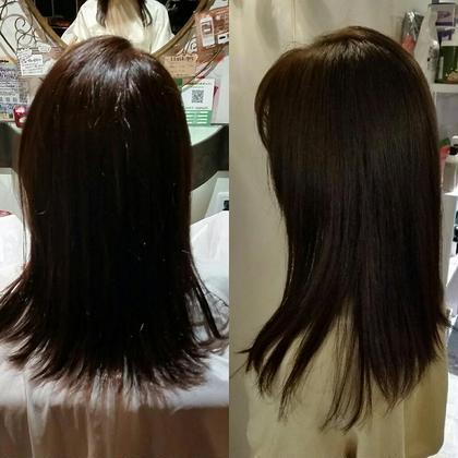 ココアブラウン double hairdesign所属・林亜美のスタイル