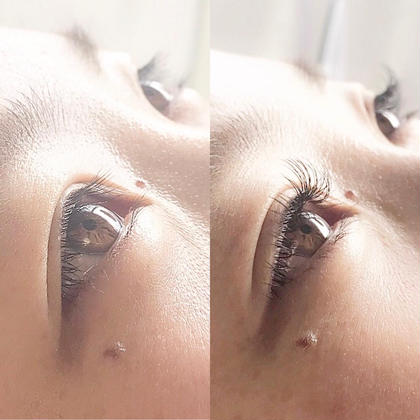 ♡eyelash♡ Before ⬇︎⬇︎⬇︎ After  #flatlash #ロングヂューリー  D8.9.10.11/0.15/100本