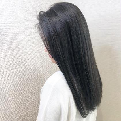 【✨前髪のクセが気になるかたオススメ✨】☑️前髪縮毛矯正➕艶トリートメント¥3500