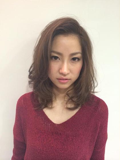前髪立ち上げてかっこ良く! TONI&GUY静岡サロン所属・小川貴裕のスタイル