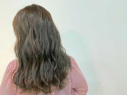 韓国流オルチャン😍ブリーチなしでも透明感⭐️ダブルカラーライト✨(ブリーチなしの明るくするカラー+全体イルミナカラー)