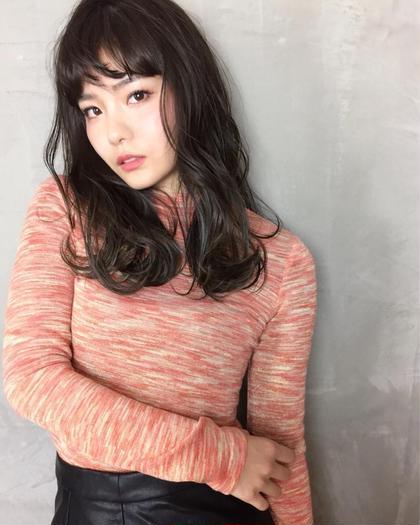 {✨New Open記念✨}💕透明感&髪質改善💕アディクシーカラー+TIKIO 5Stepトリートメント/9500