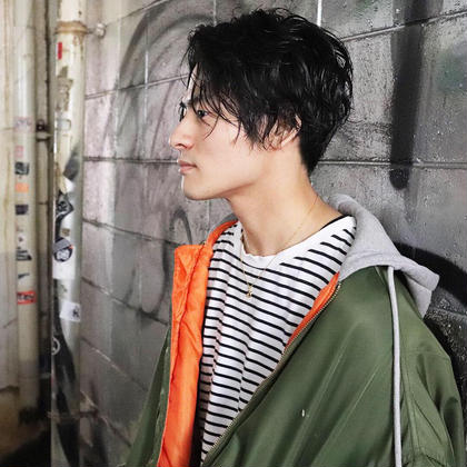 【デザインパーマ+美肌効果シートパック+眉カット+ピロミントリートメント】 ¥7020→¥3500