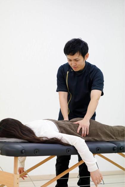 慢性腰痛に特化したKK式整体です。 整体院憲所属・河野憲志朗のフォト