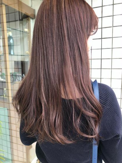 🤍【人気NO.1】カット × 透け感カラー
