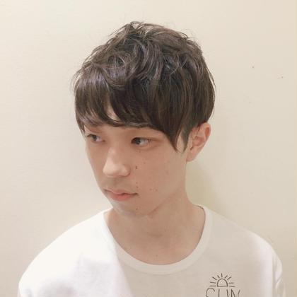 パーマ風スタイル Neolive  em所属・ひろさわあきほのスタイル