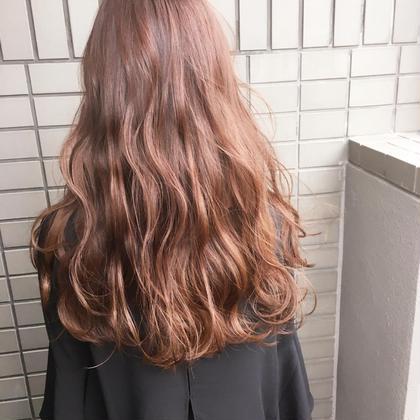 ピンクブラウンで艶髪に✨ Hair Resort Lino所属・Mai.のスタイル