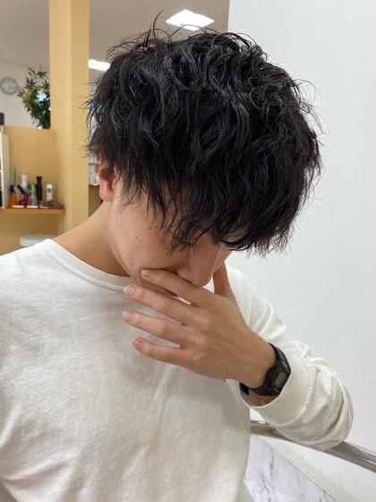 ▪️【men's限定🙋♂️】カット+men'sパーマ🔥