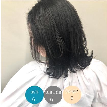 【超人気💄】髪質改善オリジナル配合カラー+TOKIOトリートメント✨💕