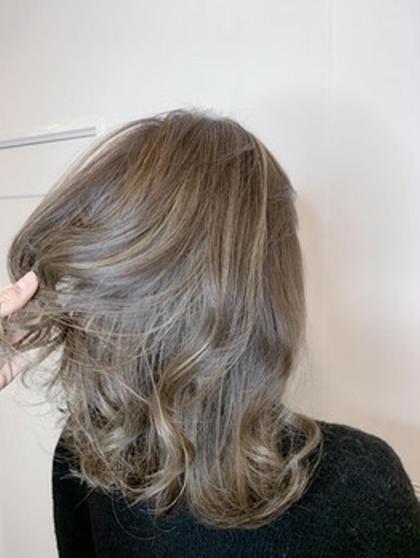 髪の内部から綺麗に染まる❗THROWカラー🍀+相性ばっちりTOKIOトリートメント付き髪の毛修復カラー❇️❇️