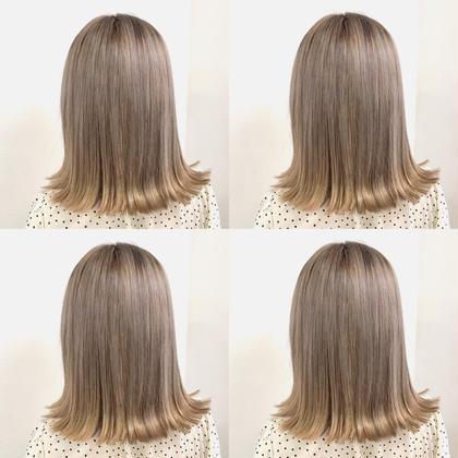 💗1ブリーチ✖️透明感カラー➕前髪カット➕髪質に合わせたシャンプー➕8stepハホニコさら艶トリートメント💗
