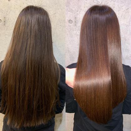 1日先着3名様🧡ご新規様限定 カット+イルミナフルカラー+髪質改善ウルトワ水素トリートメント