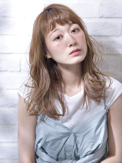 人気No.3✨20%OFF⭐︎似合わせトップスタイリストカット+低温柔らかふわふわパーマ✨