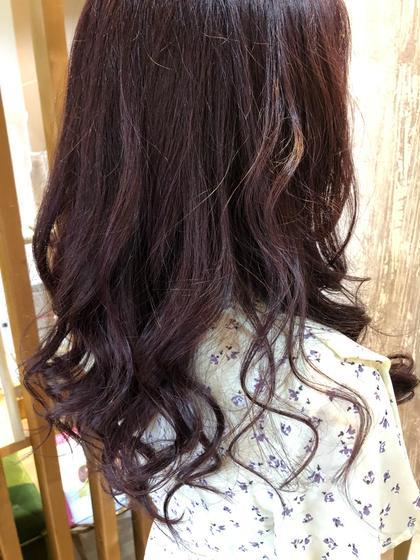 【新規】7.8月限定💚前髪カット+イルミナカラー+トリートメント