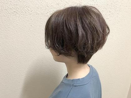 カラー ショート ハイライト ショートヘア