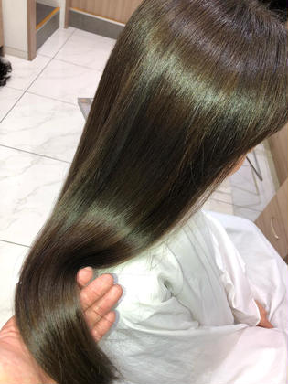 🌟新メニュー🌟今までに無い圧倒的髪質❤️トレンドカット➕髪質改善イルミナ カラー❤️コラーゲントリートメント付き⭐️