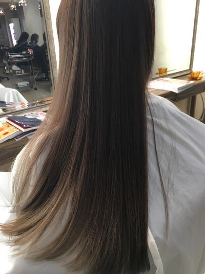 ⭕️初回限定⭕️ 💚カット ⭐︎レブリン酸&グリオキシル酸、髪質改善トリートメント&CPEトリートメント